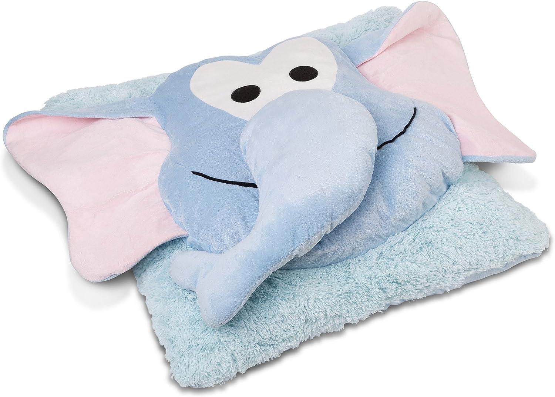 Safdie & & & Co  Elephant Fun Plush Oversized Floor Pillow