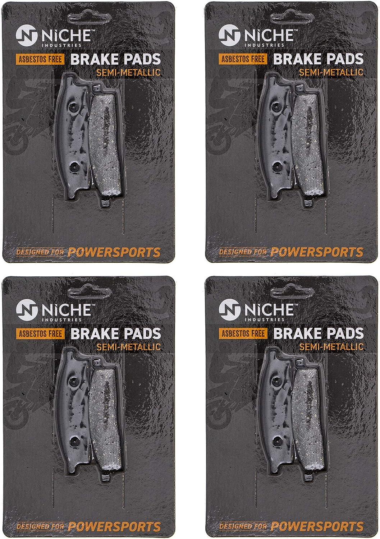 NICHE Brake ! Super beauty product restock quality top! Pad Set for Yamaha TTR125LE TTR125L Max 71% OFF YZ85 YZ80 TTR125