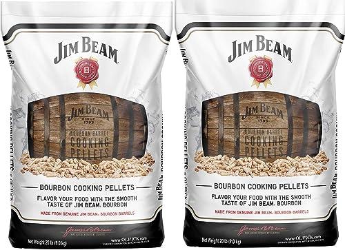 lowest Ol' Hick Cooking Pellets Genuine Jim Beam Bourbon Barrel Grilling high quality Smoker Cooking Pellets, 40 Pound online Bag outlet sale