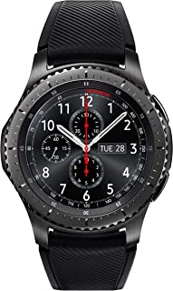 Samsung SM-R760NDAAXSA Smart Watch Gear S3 Frontier Smartwatch (Australian Version) with 2 Year Manufacturer Warranty, Black