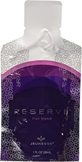 RESERVE Dietary Supplement - Antioxidant Superfruit Blend with Resveratrol, Aloe Vera, Green Tea and Grape Seed Extract, 1 fl oz, pack of 30