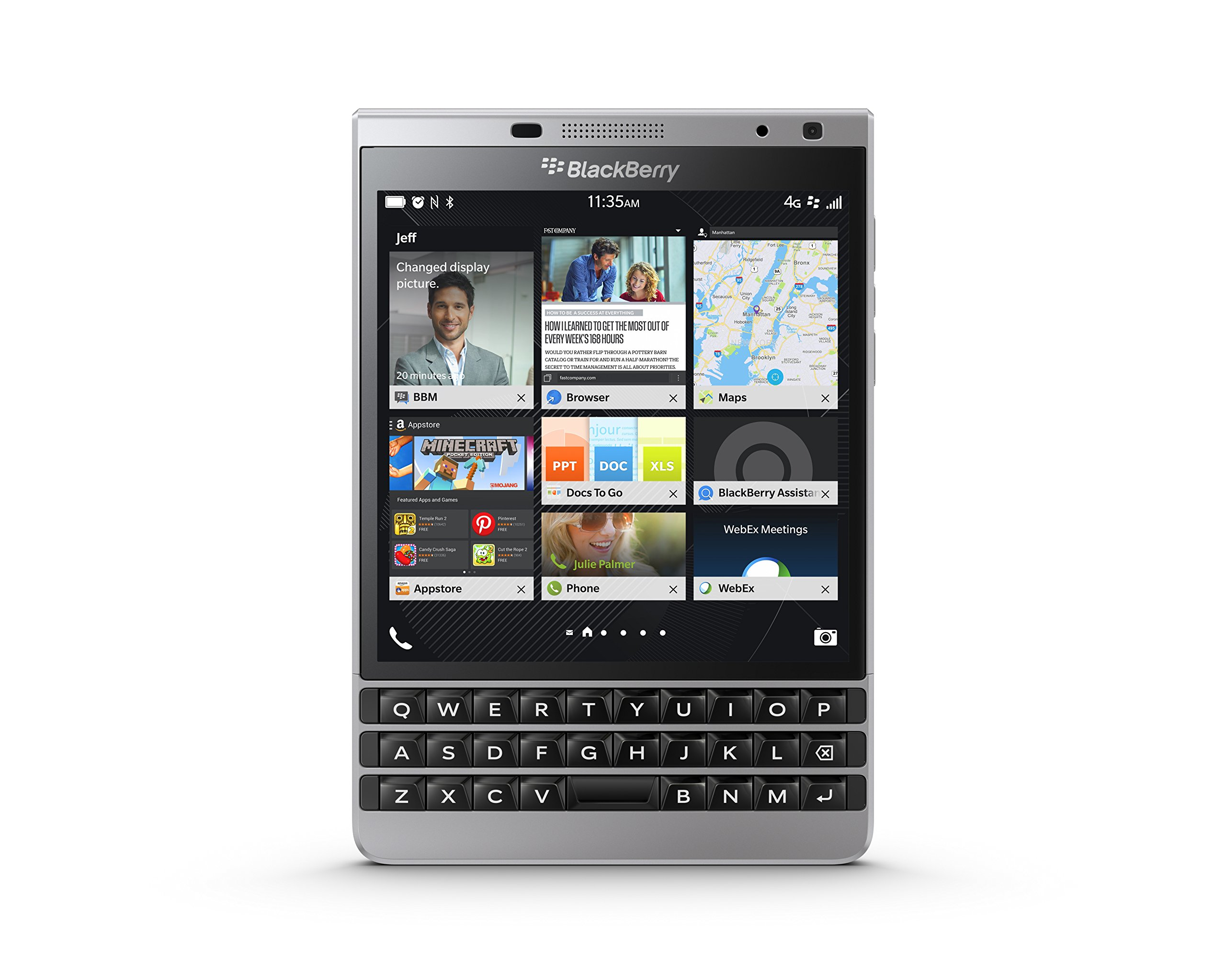 Blackberry Passport - Smartphone 4.5 inches (4G, Qualcomm ...