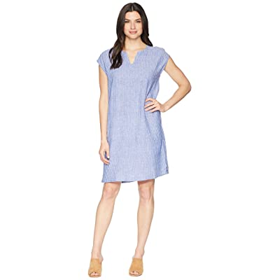 NIC+ZOE Detour Dress (Ultramarine) Women