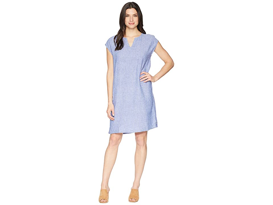 NIC+ZOE Detour Dress (Ultramarine) Women