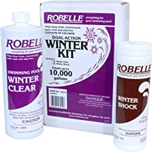 Robelle 3410 Dual-Action Winter Kit for Swimming Pools, 10000-Gallon