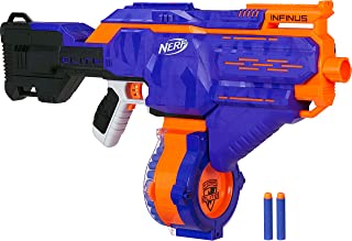 Infinus Nerf N-Strike Elite Toy Motorized Blaster with Speed-Load Technology, 30-Dart..