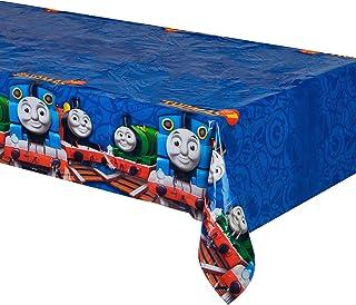 غطاء طاولة توماس آند فريندز، من أمسكان، 120 × 180 سم، أزرق