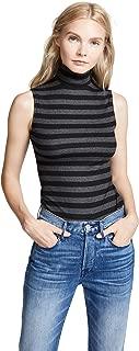 Women's Konstantin Striped Turtleneck Top