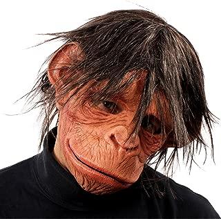 Hey Hey Here is a Monkey Full Mask w/ Hair