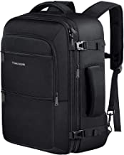 حمل و نقل آخر هفته Vancropak 40L تأیید شده بر روی کوله پشتی ، کیسه کوله پشتی بزرگ سفر قابل حمل برای آقایان ، کیسه کوله پشتی چمدان مقاوم در برابر آب جهت حمل و نقل در فضای باز ، سیاه
