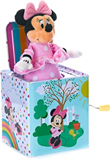 KIDS PREFERRED Disney Baby Minnie Mouse Jack-in-The-Box - Musical Toy for Babies