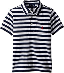 Polo Ralph Lauren Kids - Featherweight Cotton Mesh Polo (little Kids/Big Kids)