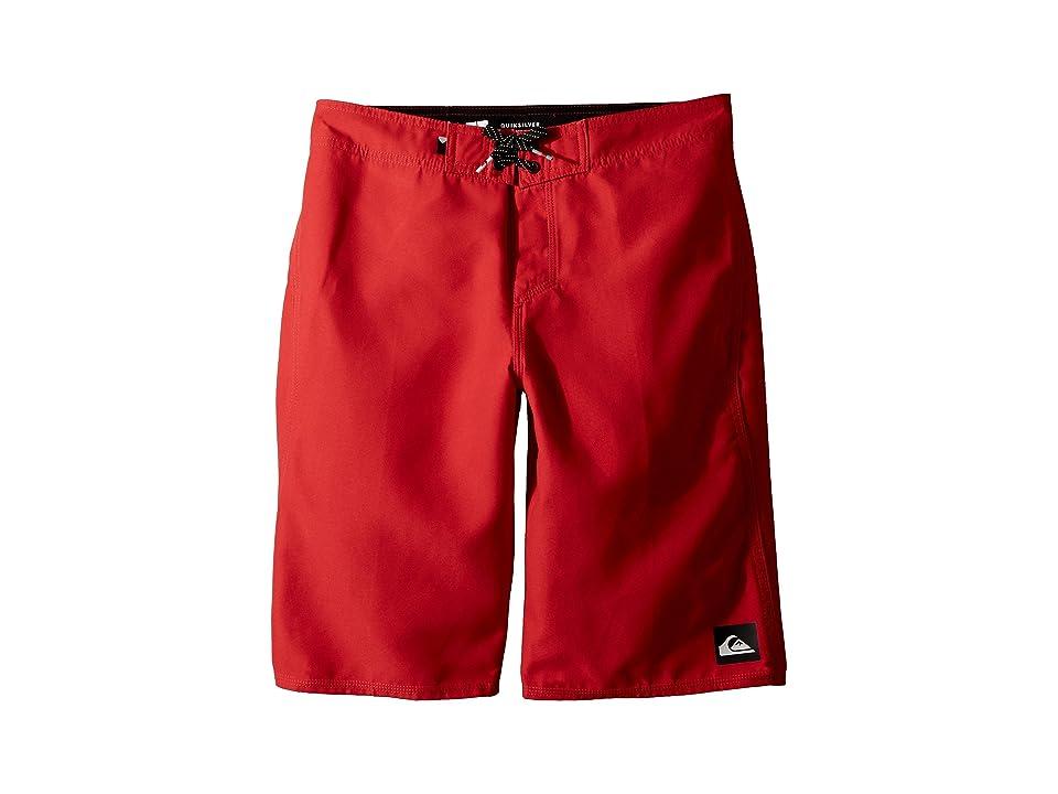 Quiksilver Kids Highline Kaimana Boardshorts (Big Kids) (Quik Red) Boy