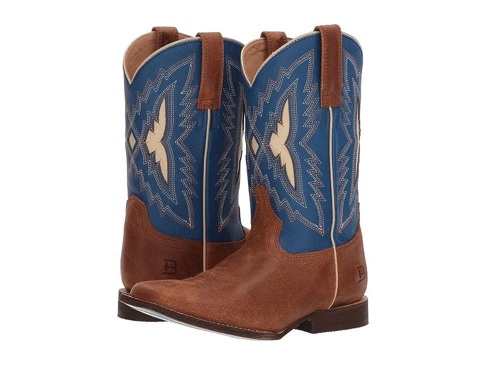 Ariat Kids Top Notch (Toddler/Little Kid/Big Kid) (Butterscotch/Milky Blue) Cowboy Boots