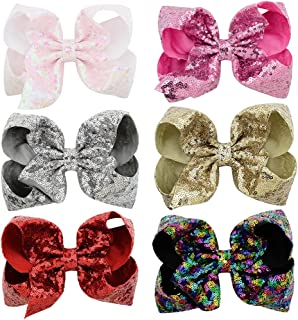 Best black and silver hair bows Reviews
