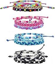 FROG SAC 12 PCS VSCO Bracelets for Teen Girls, Kids Friendship Bracelets for Girls, Party Favors for Teens Girls, Cute VSC...
