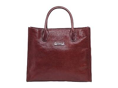 Old Trend Genuine Leather Aspen Leaf Tote Bag