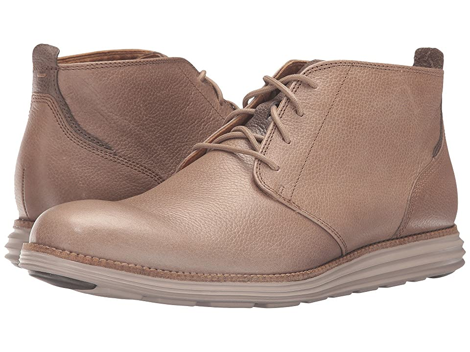 Cole Haan Original Grand Chukka (Desert Taupe Leather/Cobblestone) Men