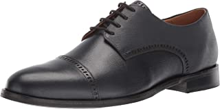 Mens Leather Oxford Lace-up Dress Shoe