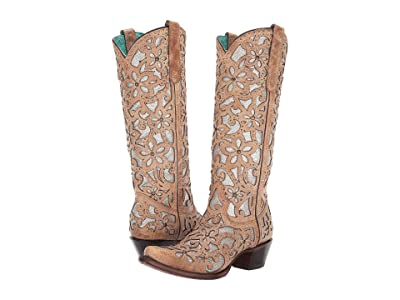Corral Boots A3673 (Sand) Cowboy Boots