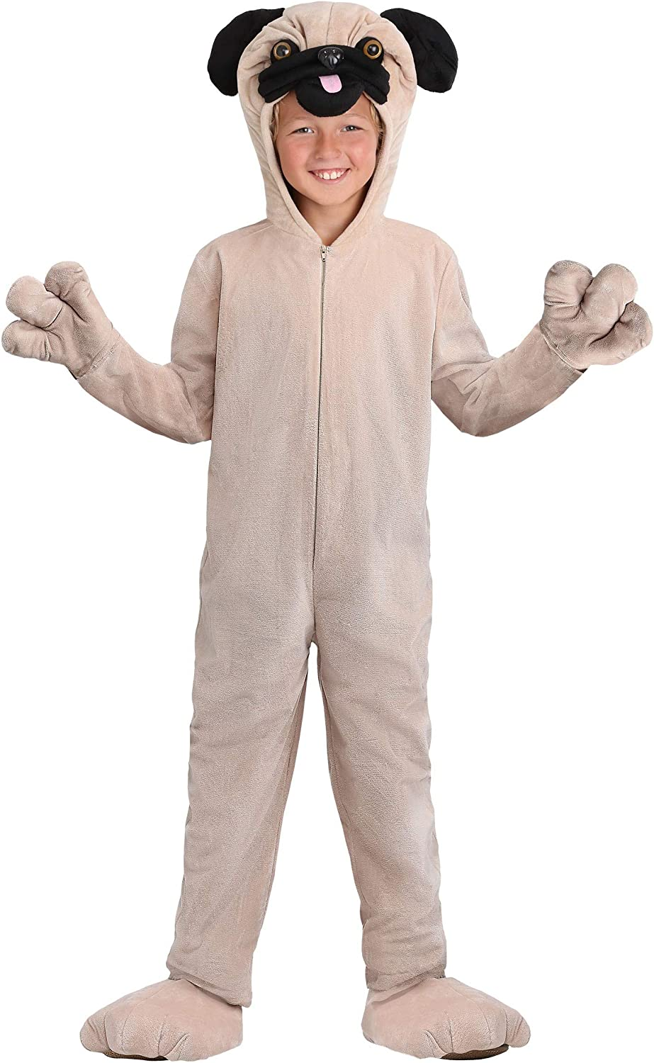 Kids Pug Costume Child Bombing free shipping Jumpsuit Dog Max 84% OFF