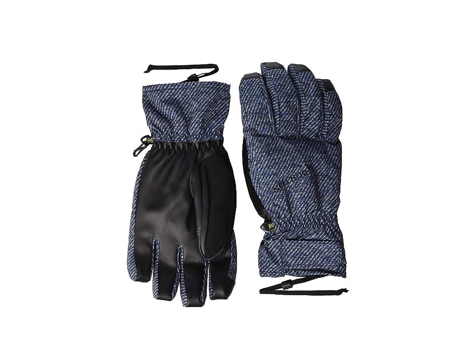 Burton Profile Under Glove (Mood Indigo Twill) Snowboard Gloves