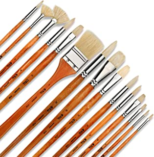 black gold oil painting brushes