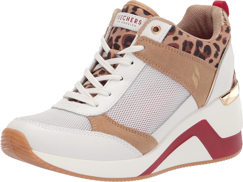 Skechers Women's Street Million-Wild'in Sneaker
