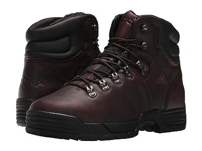 Rocky 6 Mobilite Soft Toe Wide Toe (Dark Brown) Men