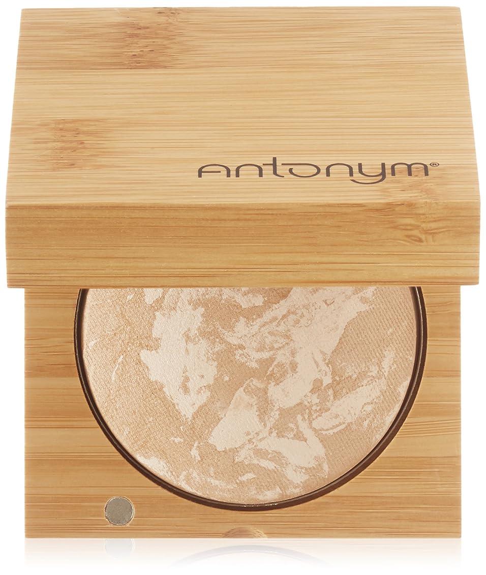アイザック下線先入観Antonym - Certified Organic Baked Foundation Dark