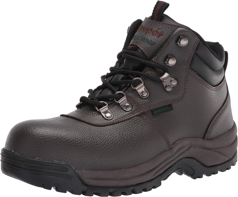 Propet Men's Shield Boot Walker Sale Special Price Construction 40% OFF Cheap Sale