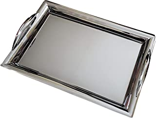 large stainless steel roasting tray