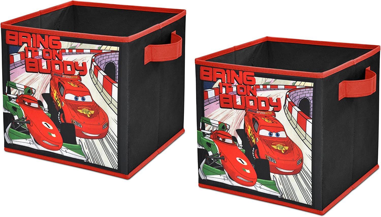 Disney autos 2 Storage Cubes, Set of 2, 10-Inch by Disney