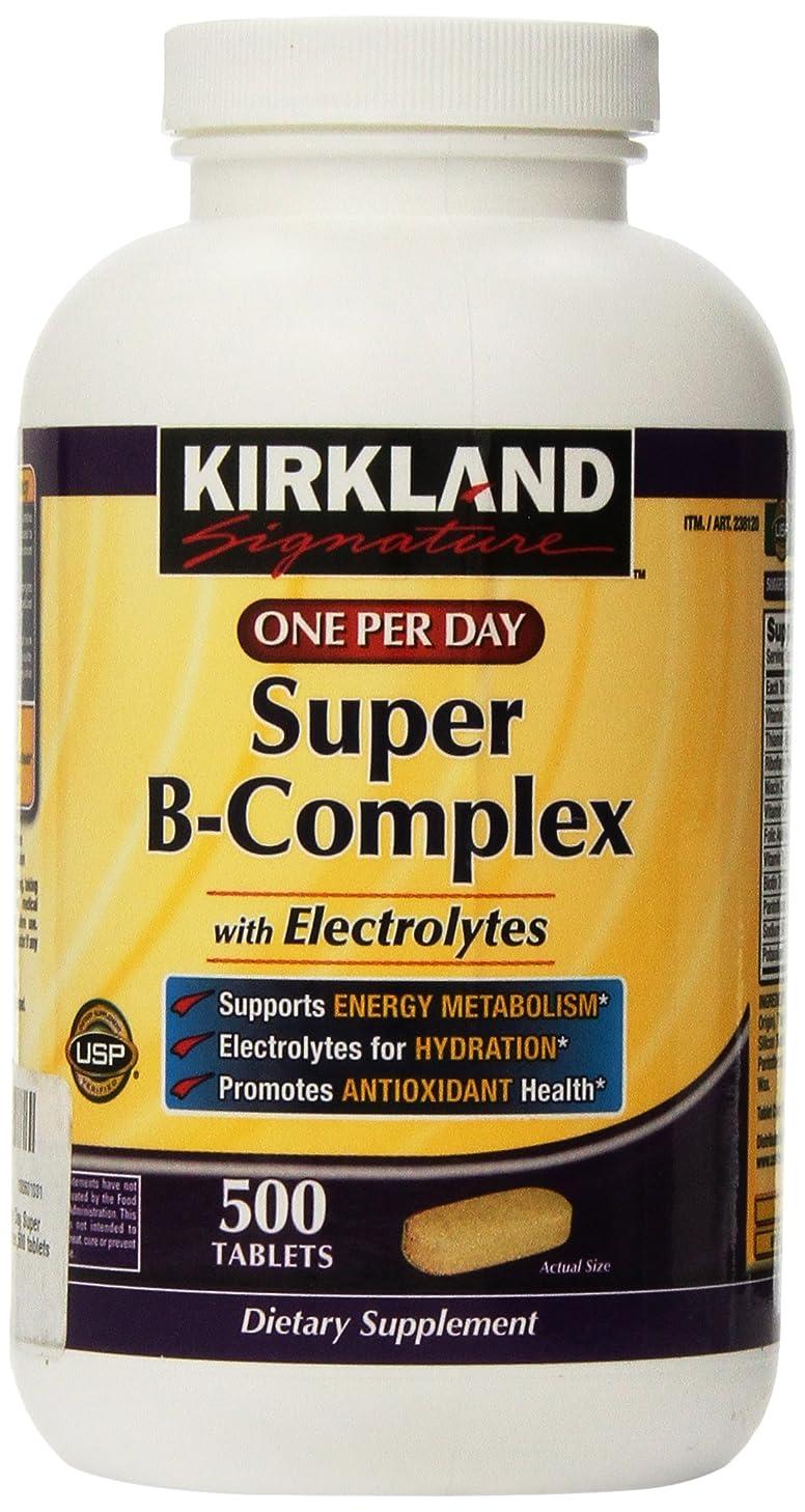 計画的異なるロープKirkland Signature One Per Day Super B-Complex with Electrolytes,500 tablets by Kirkland Signature