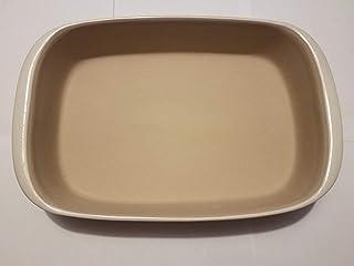 The Pampered Chef Rectangular Baker Model 1310 Vanilla