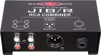 Galaxy Audio JIB/R RCA Combiner (JIBR)
