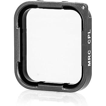 Chronos Polarization Filter Compatible for GoPro Hero 7 Black, Go Pro Hero 6, 5, CPL, PL, Circular Polarizer Filter, Cinema Glass Lens