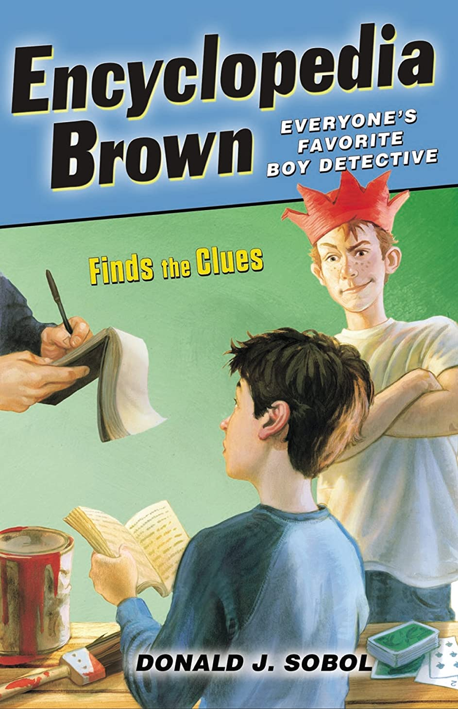ヒューム十年スケッチEncyclopedia Brown Finds the Clues (English Edition)