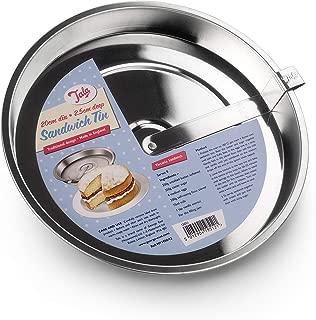 Tala Sandwich Tin With Cutter, Silver