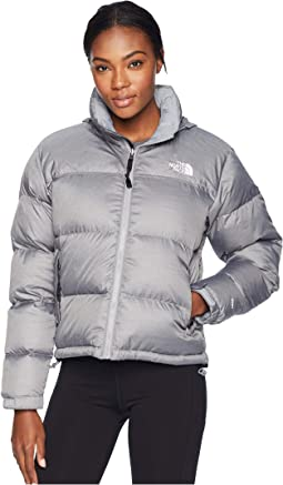 a013c40c91 The north face nuptse jacket tnf medium grey heather tnf black ...