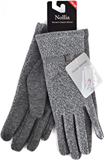 Women's Sparkly Touch Screen Winter Gloves