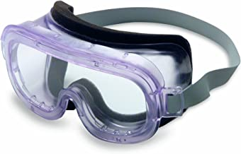 Uvex S350CF Classic Safety Goggles, Clear Body, Clear Uvextreme Anti-Fog Lens, Face Foam