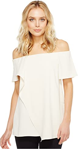 Halston Heritage - Off the Shoulder Top