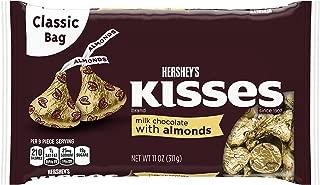 HERSHEY'S KISSES Milk Chocolate W/Almonds - 11 oz