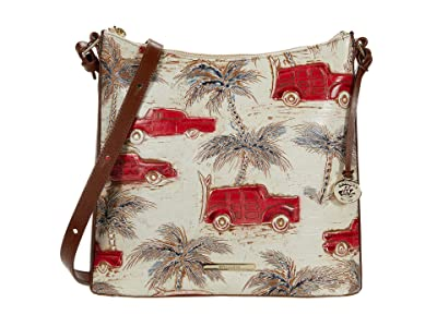 Brahmin Copa Cabana Katie Crossbody (Ember) Handbags