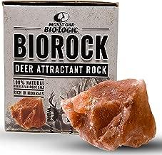 Mossy Oak BioLogic Deer Attractant Bio Rock - 100% Natural Himalayan Rock Salt - Deer Love to Lick   8 LBS