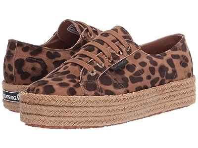 Superga 2730 Fankidsueropew (Leopard) Women