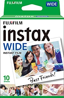 Fujifilm instax 210 WIDE Glossy camera (10 films), wit, Einzelpackung