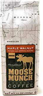 Harry & David Moose Munch Maple Walnut Ground Gourmet Coffee
