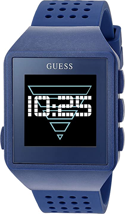 Guess watches gents connect orologio uomo digitale con cinturino in silicone c3002m5